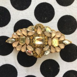 Anthropologie Vintage Retro Hair Barrette